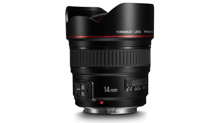 Yongnuo 14mm f/2.8 un obiettivo ultra grandangolare AF per Canon e Nikon