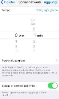 App blocco