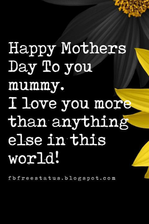 mothers day messages and quotes