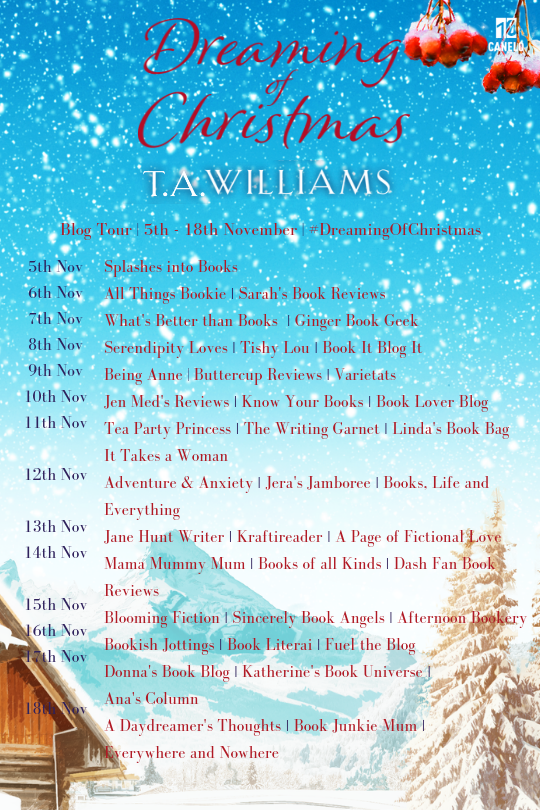 Dreaming of Christmas Blog Tour 2018