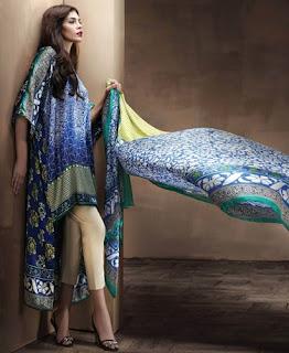 Sana Safinaz Fall Winter Collection 2015 Silk
