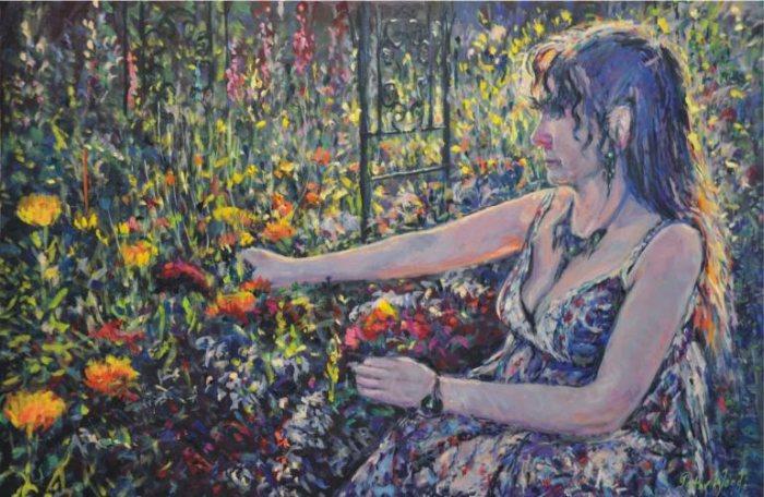 Британский художник. Peter Wood