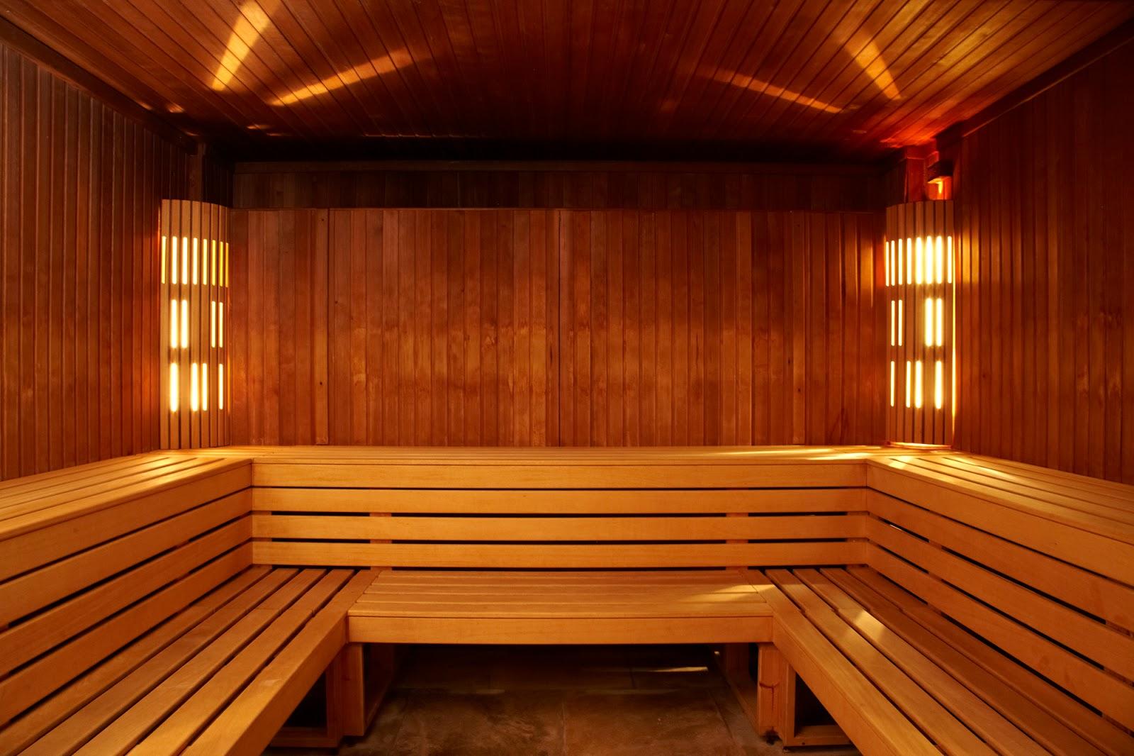 Eden Hall sauna