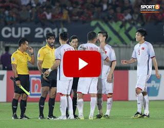 Xem lại trận đấu - Video quay lại trận: Vietnam vs Myanmar ngày 20/11