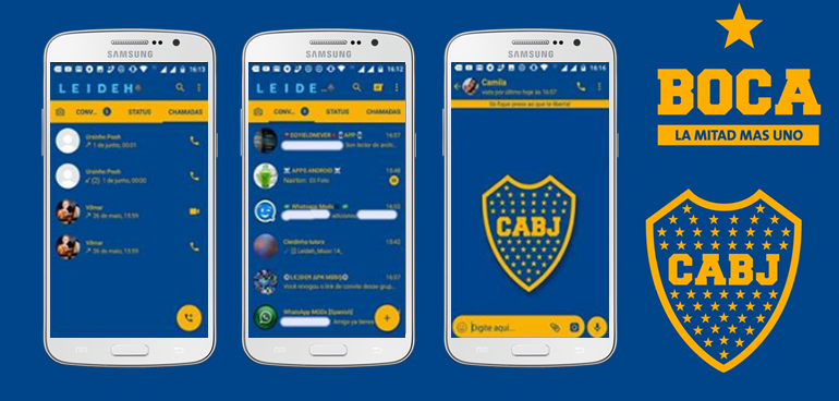 Baixar Temas GBWhatsapp - Boca Juniors