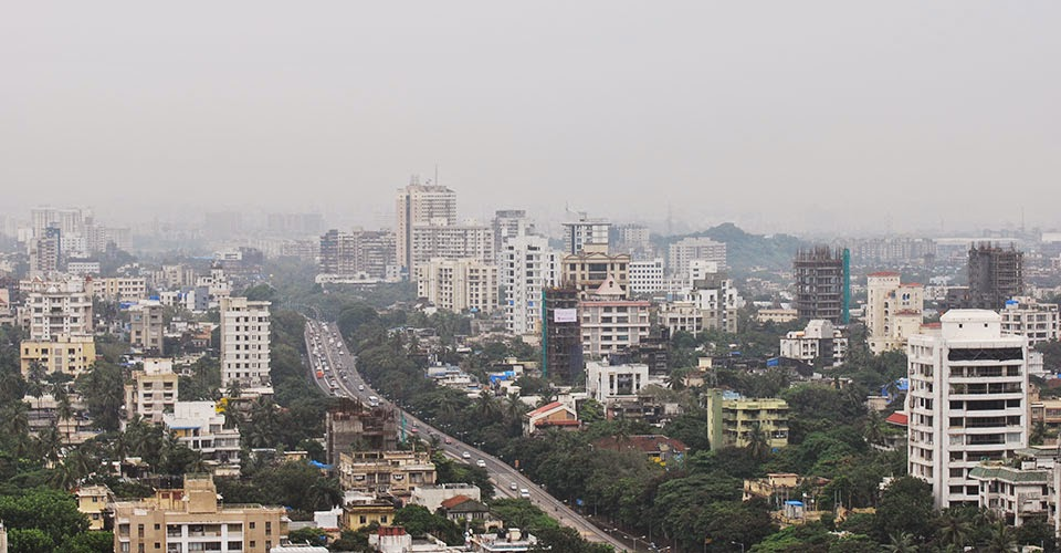 Dadar Mumbai from 27th floor