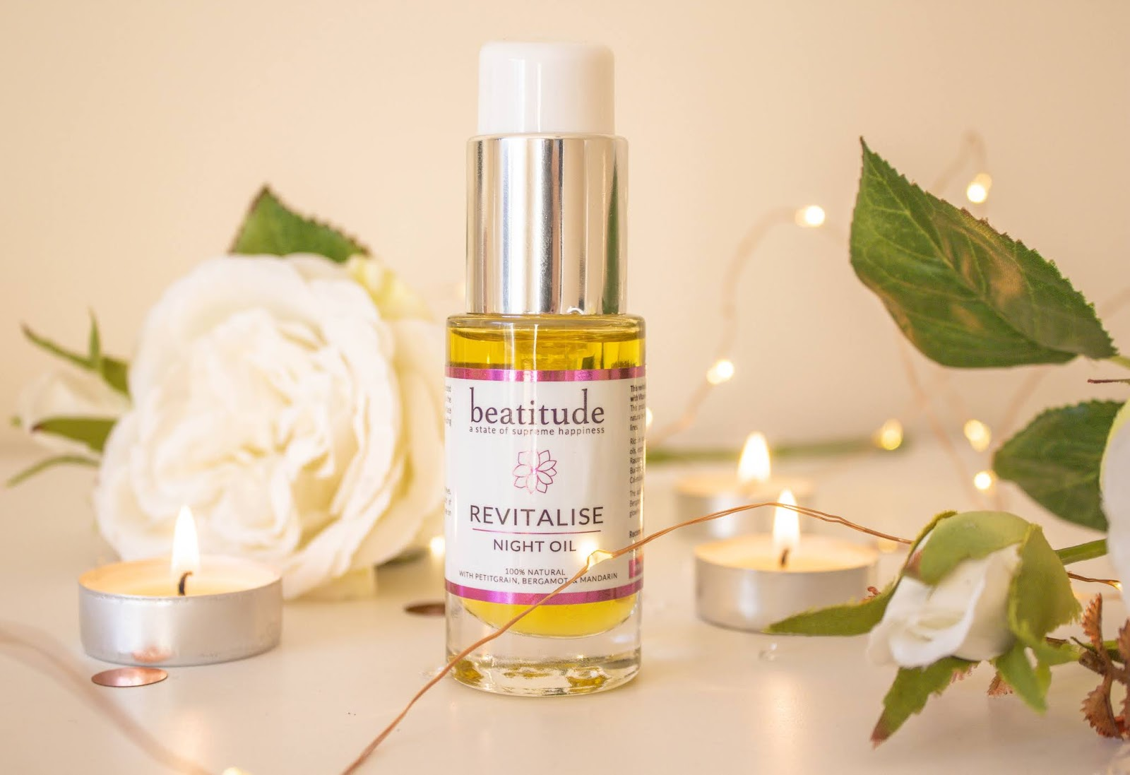 Beatitude Revitalise Night Facial Oil Review