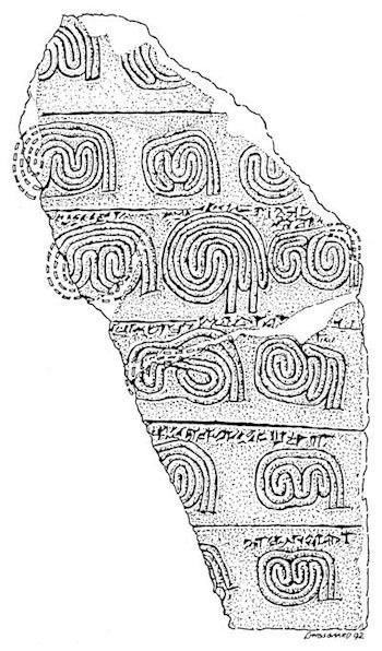 ancient Babylonian labyrinths