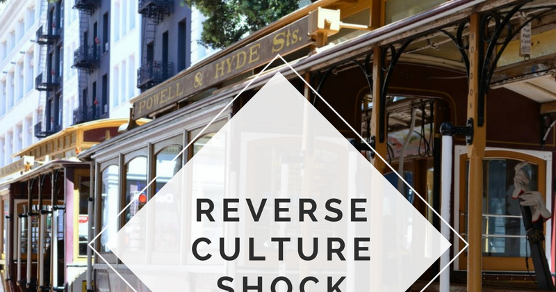Experiencing Reverse Culture Shock