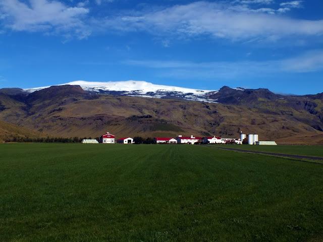 Mirador al volcán Eyjafjallajökull