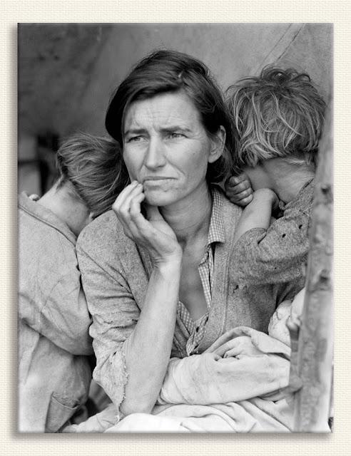 Dorothea Lange Göçmen Anne