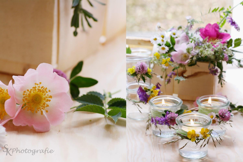 Diy Windlichter Im Einweckglas Mit Blumenkranz Alles Und Anderes