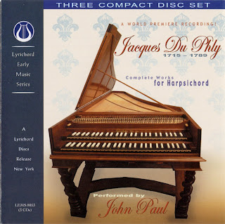 Jacques Duphly: Complete Works for Harpsichord