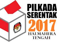 Hasil Quick Count / Hitung Cepat Pilkada/Pilbup Halmahera Tengah 2017