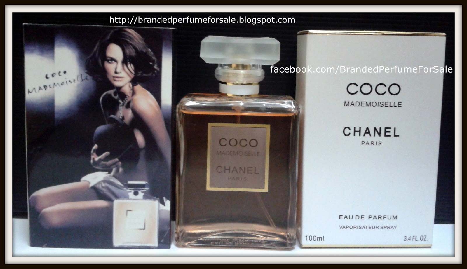 4a78e562 Chanel Coco Mademoiselle 100ml EDP For Women - Branded Perfume For Sale