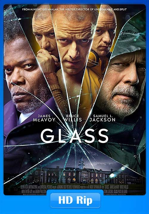 Glass 2019 720p WEB-DL x264 | 480p 300MB | 100MB HEVC