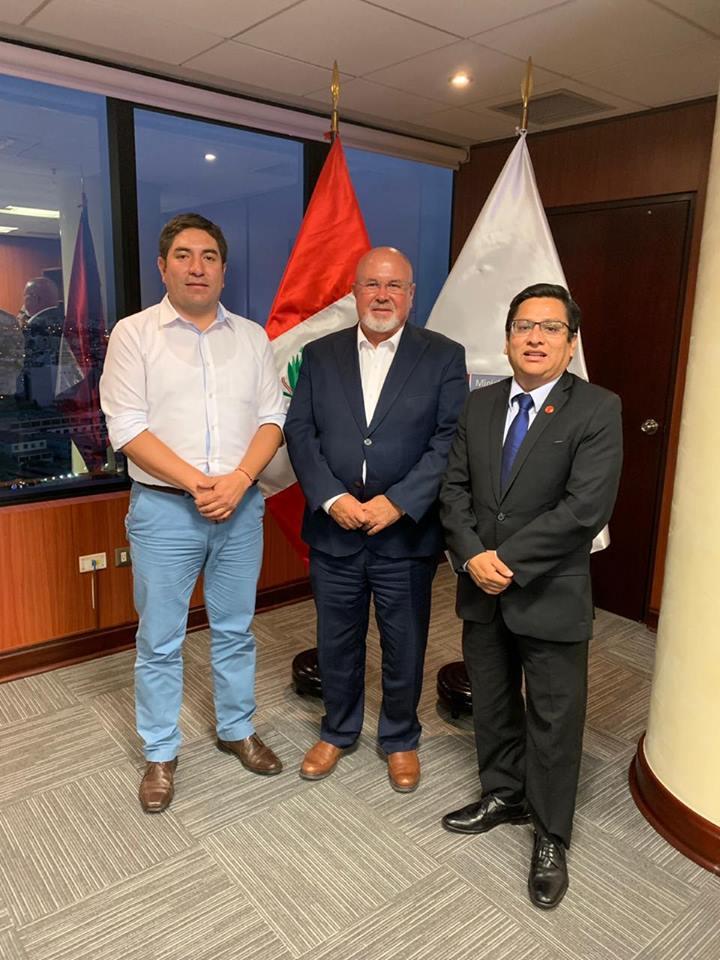 Alcalde José Morales Soto gestiona 15 millones de soles para Cajabamba