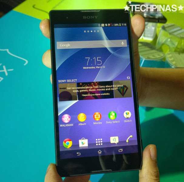 Sony Xperia T2 Ultra, Sony Xperia T2 Ultra Philippines