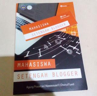buku mahasiswa setengah blogger