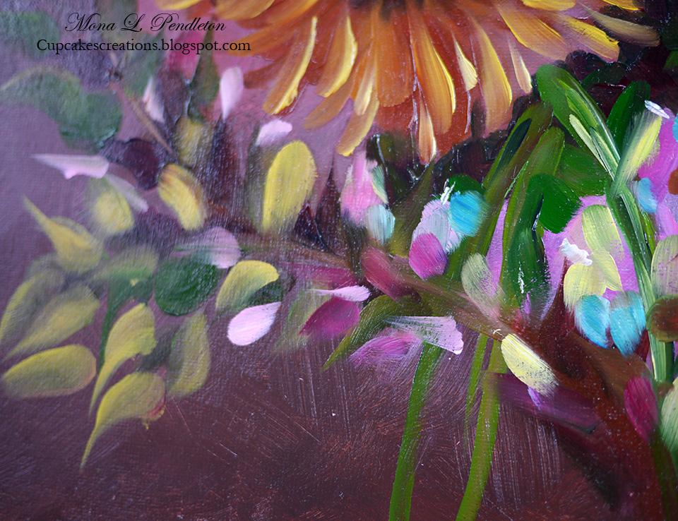 Sunny Sunflowers ~ Cupcake's Creations