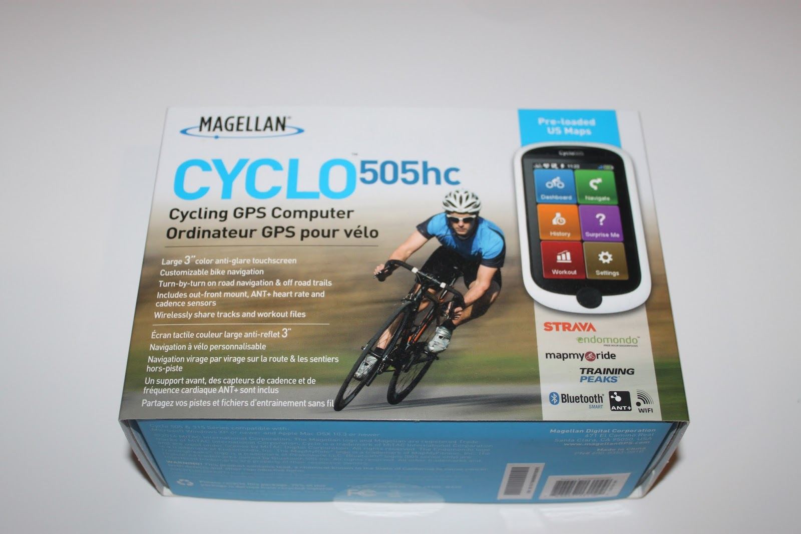 Stereowise Plus: Magellan Cyclo 505HC GPS Bicycle Computer Review
