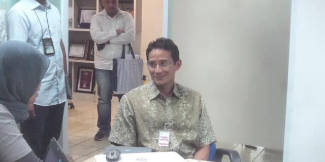 Setelah Daftar ke PKB, Sandiaga Uno Daftarkan Diri ke PDI-P