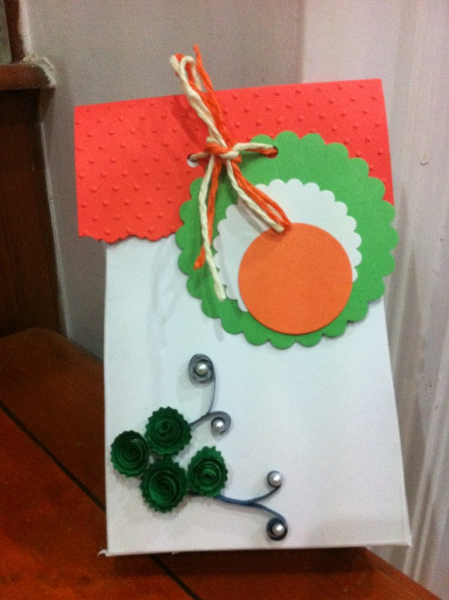 Card Making Ideas For Republic Day Part - 45: Independence Day Craft Activity
