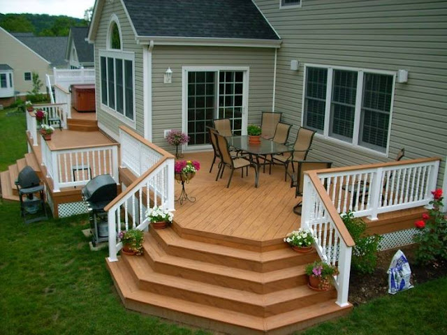 Practical Backyard Landscaping Ideas 2016 with patio