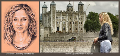 Dr. Suzannah Lipscomb. by Travis Simpkins. The Tower of London