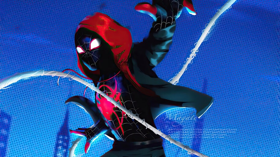 Spider-Man, Miles Morales, Superhero, 4K, #6.2137