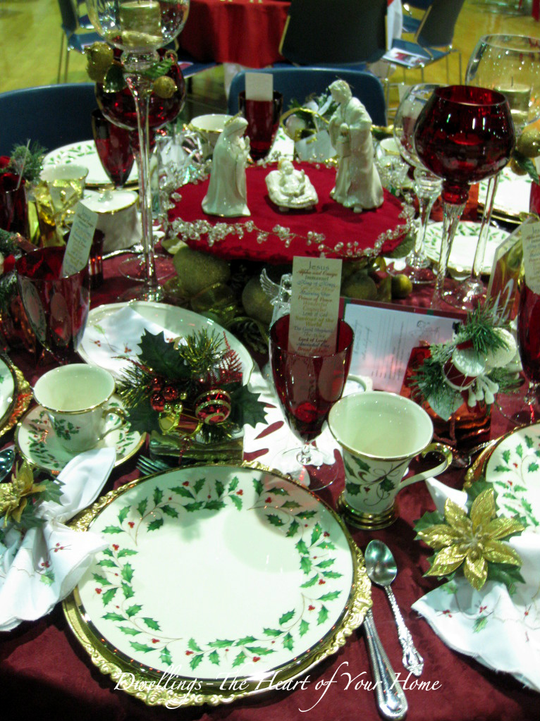 More Christmas Tea Festival Of Tables Dwellings The