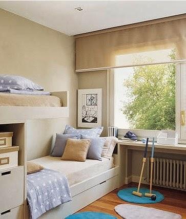 Boiserie c 12 stanze dei bambini grandi idee per for Idee per arredare piccoli spazi