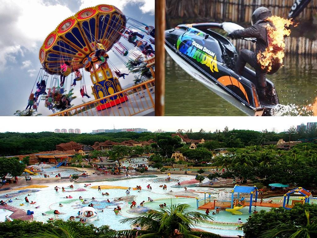 Paket Wisata Dufan + Ocean + Atlantis