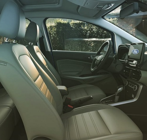 interior car ford ecosport