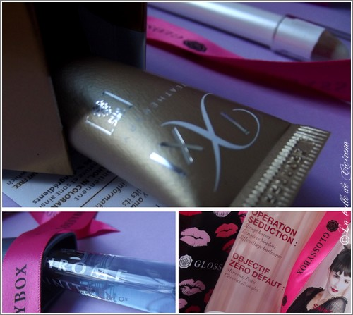 Glossy, glossy box, blog maquillage, Ecrin d'Amour, la Glossybox spéciale St Valentin