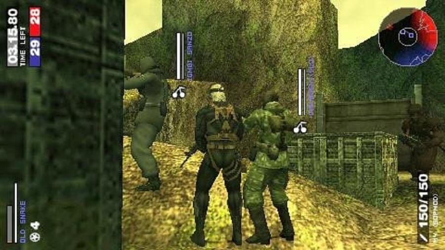 Daftar Kumpulan Game 3D FPS Tembak Tembakan Di PSP PPSSPP (Gameplay) : Metal Gear Solid Portable Ops
