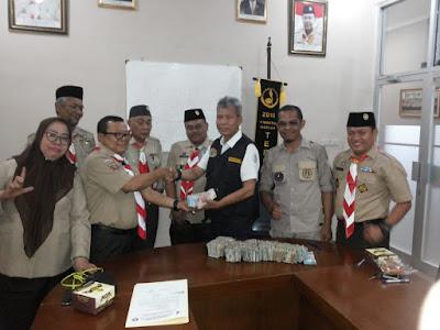 Kwarcab Lampung Utara Serahkan Bantuan Bagi Masyarakat Palu, Sigi dan Donggala