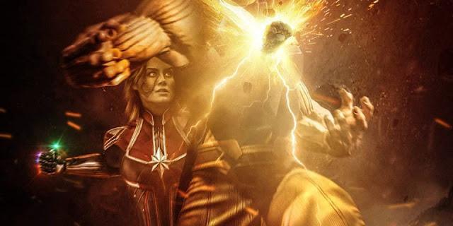 Nữ sát thủ Captain Marvel tử chiến Thanos trong Infinity War phần 2