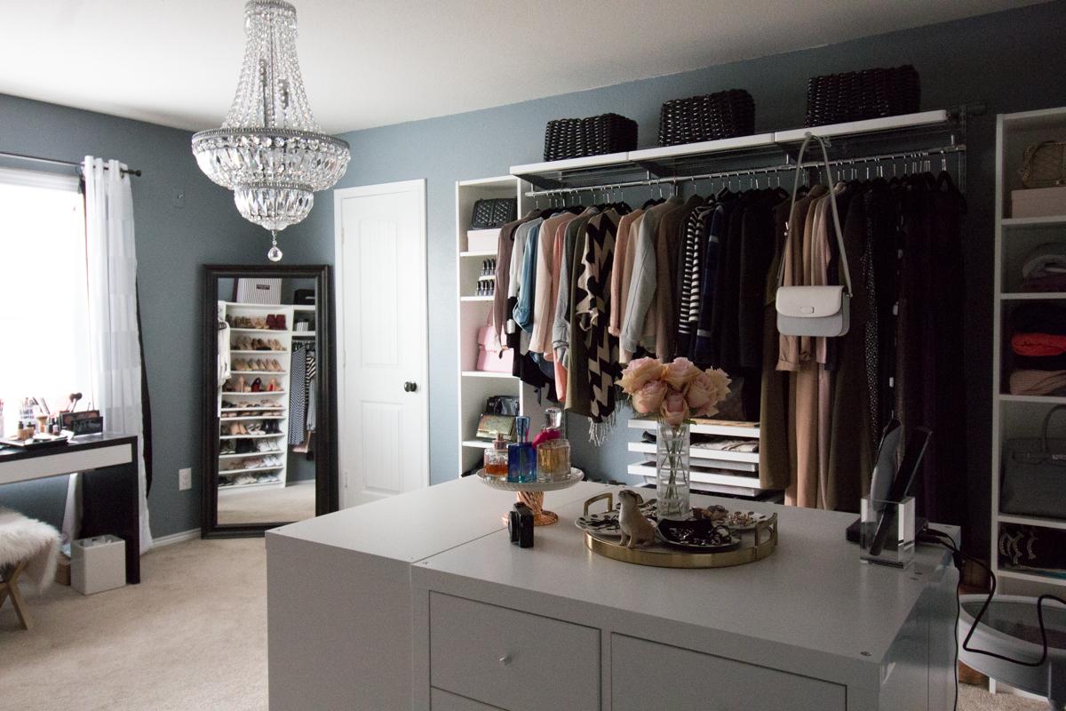 Stephienese Dallas Style Life Blog Dressing Room Update Elfa