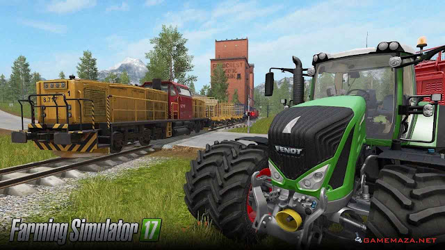 Farming Simulator 17 Gameplay Screenshot 1