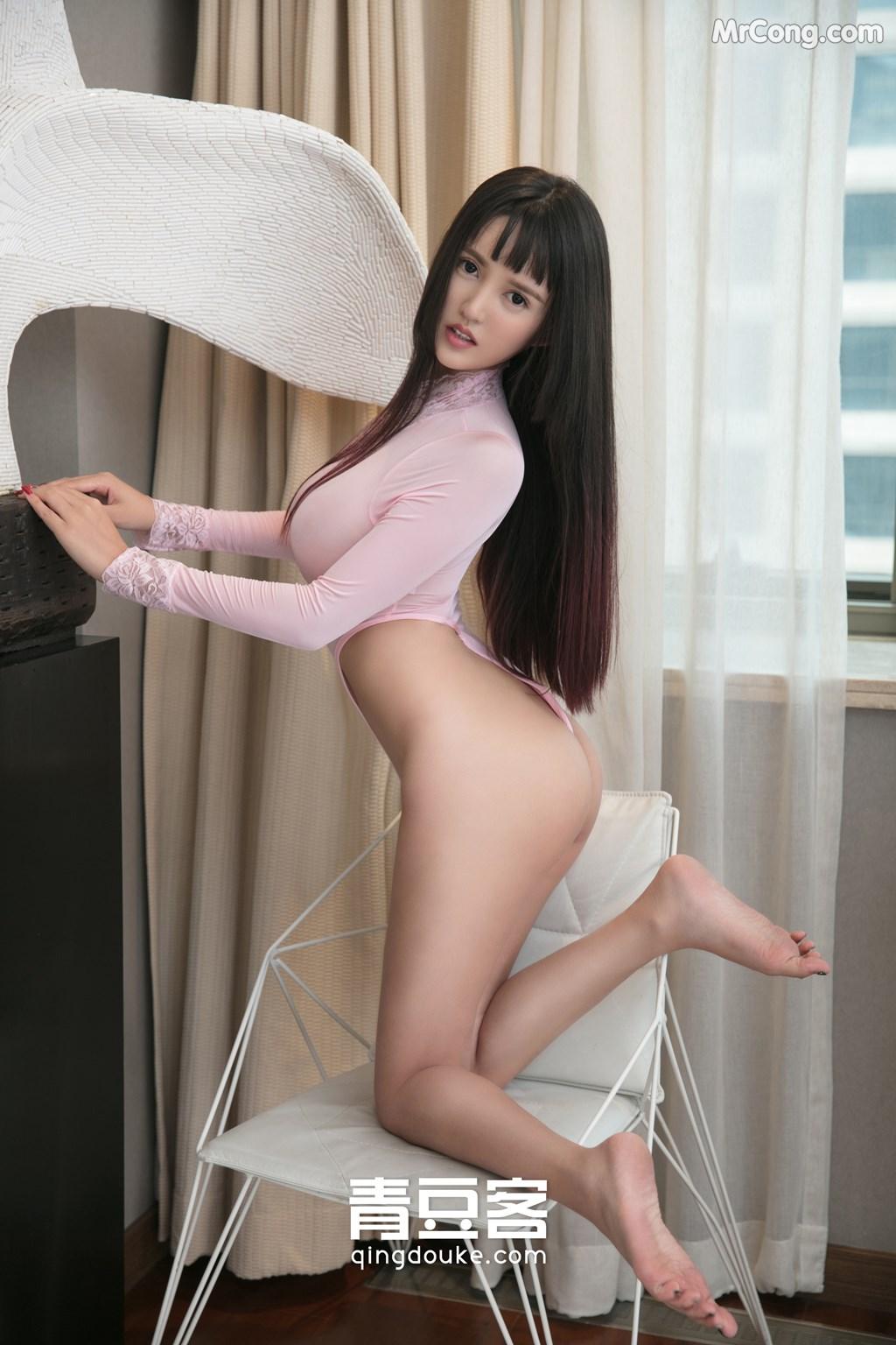 Image QingDouKe-2017-11-16-Bai-Yi-Han-MrCong.com-004 in post QingDouKe 2017-11-16: Người mẫu Bai Yi Han (白一晗) (51 ảnh)