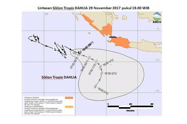 Badai Tropis Dahlia