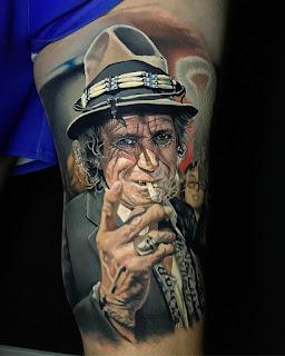 Кит Ричардс из Rolling Stones.