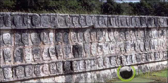 Tzompantli – Meksiko