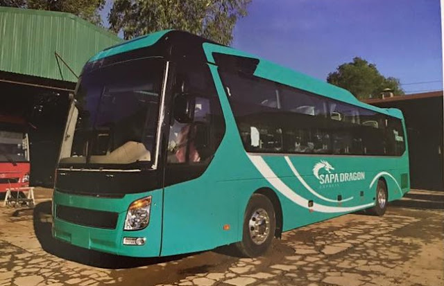 Sapa Dragon Expess Bus