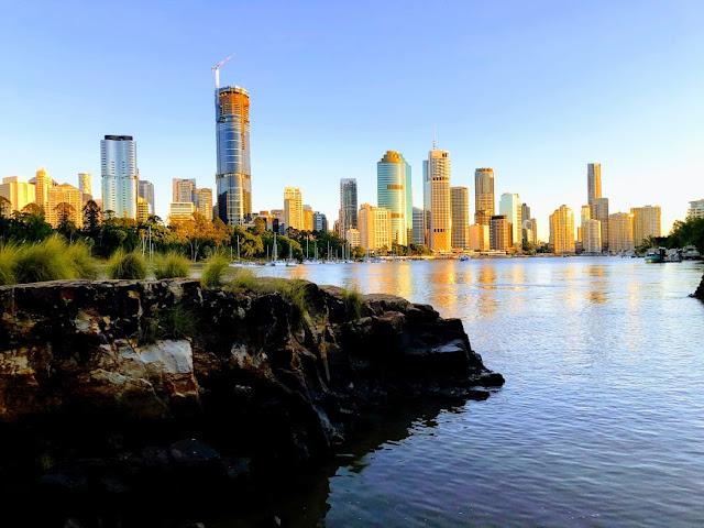 Brisbane australia sunrise