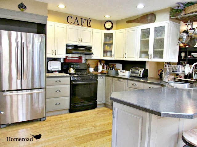 Chalk Painted Kitchen Cabinets Homeroad