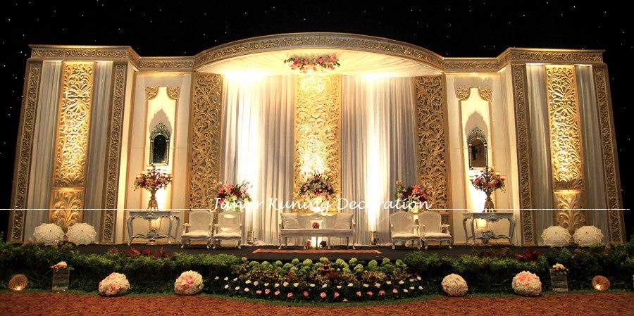 10 dekorasi pernikahan bertema kuning modern