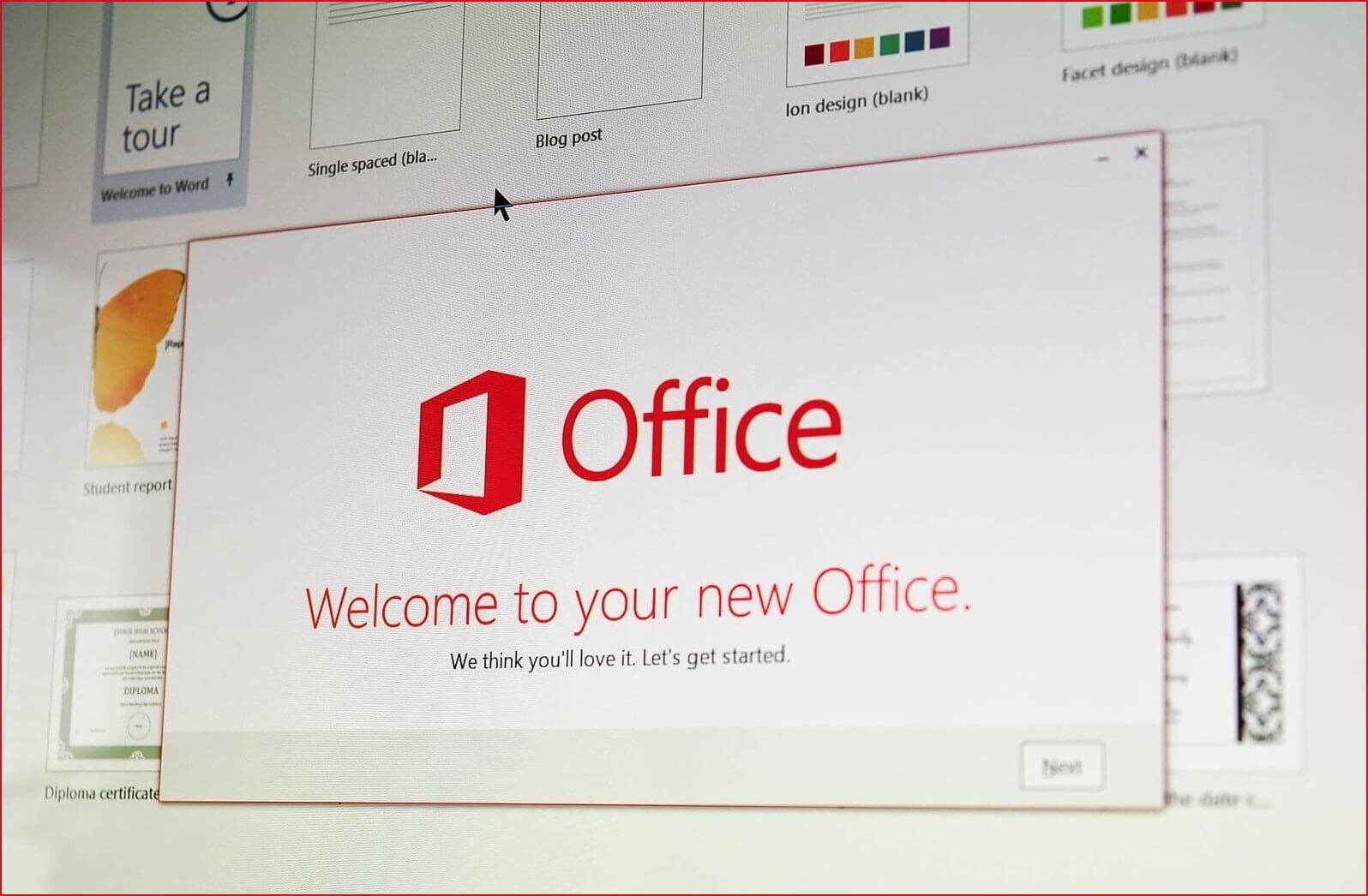 Redeem Office 365