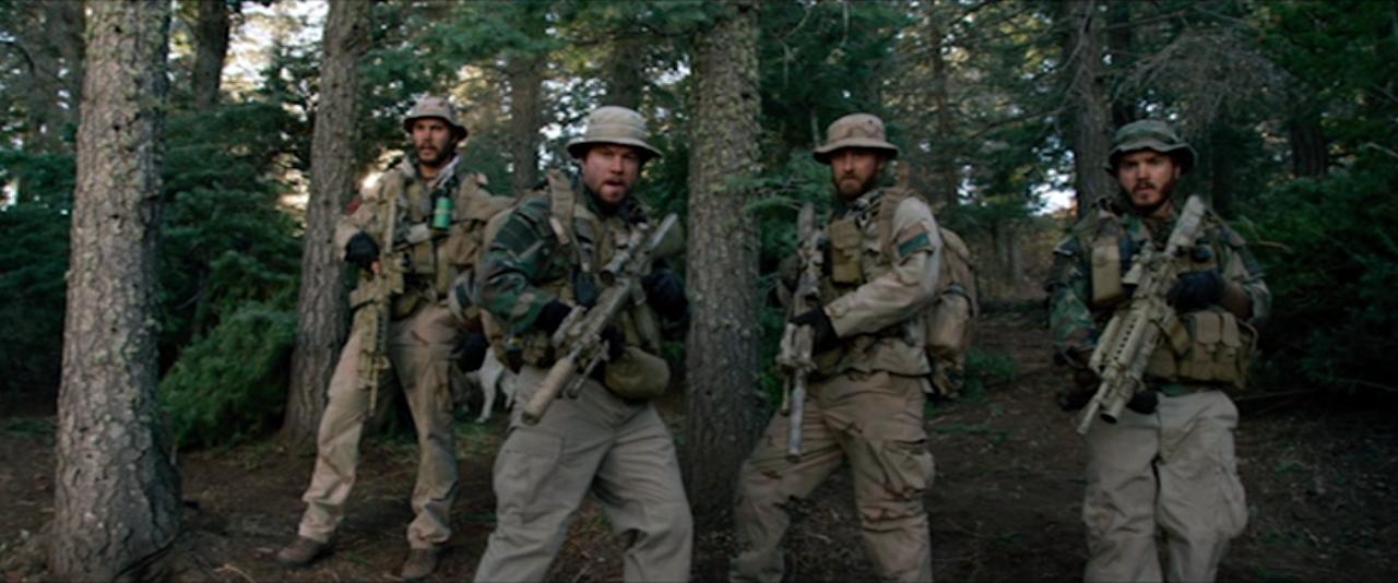 Emile Hirsch, Mark Wahlberg, Ben Foster, Taylor Kitsch in Lone Survivor